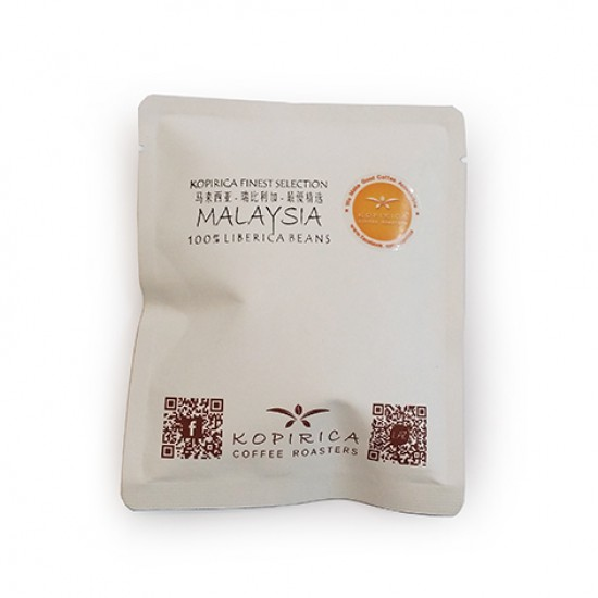 Coffee Drip Pack / Malaysia Finest Liberica Single Origin Filter Coffee 12g X 30 packs