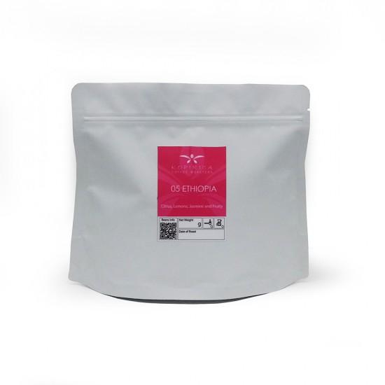 Coffee Bean / Ethiopia Guji Sidamo Washed Single Origin Filter Whole Beans 200g