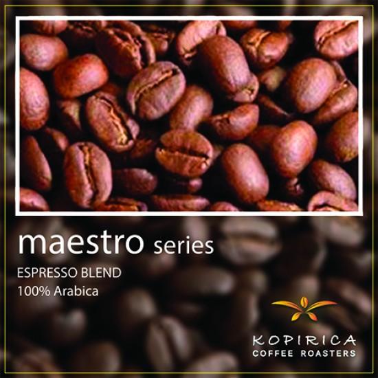 Coffee Bean / Maestro Series #001 Espresso SUPER BAR, Whole Beans 500 g