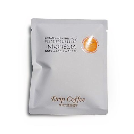 Coffee Drip Pack / Indonesia Sumatra Mandheling Single Origin Filter Coffee 12g X 30 packs