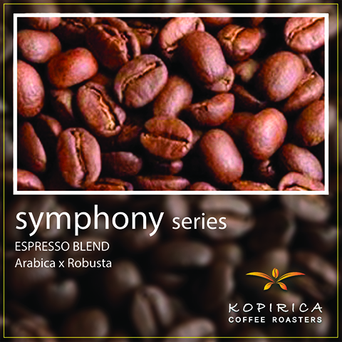 Coffee Bean / Symphony Series #008 Espresso INTENSO, Whole Beans 500 g